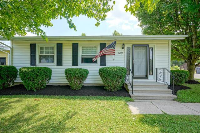 505 E Washington Street, Parker City, IN 47368 (MLS #21658192) :: The ORR Home Selling Team
