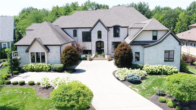 15430 Hidden Oaks Lane, Carmel, IN 46033 (MLS #21658876) :: Richwine Elite Group