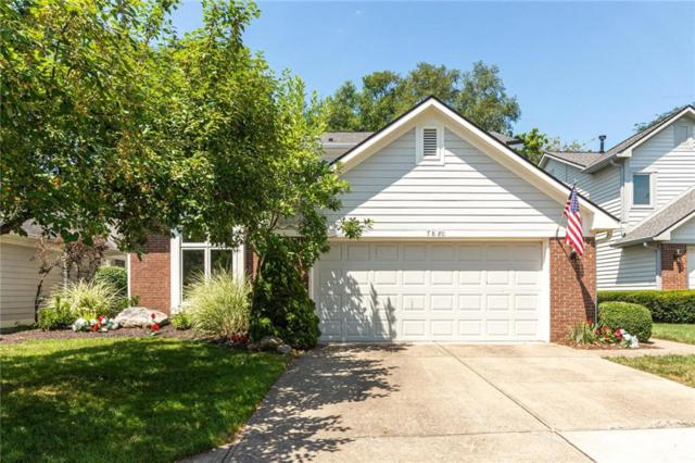 7880 Clearwater Parkway, Indianapolis, IN 46240 (MLS #21659038) :: The Indy Property Source