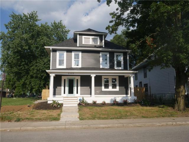 549 N Keystone Avenue, Indianapolis, IN 46201 (MLS #21659486) :: AR/haus Group Realty