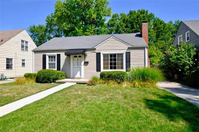 2706 E Dell Zell Drive, Indianapolis, IN 46220 (MLS #21661295) :: Your Journey Team