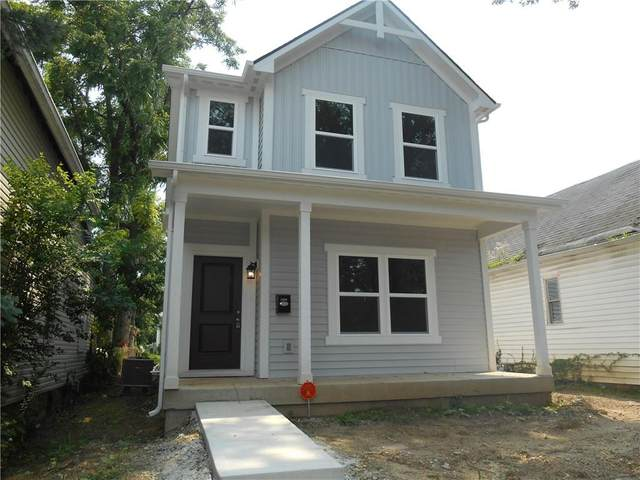 1909 S Talbott Street, Indianapolis, IN 46225 (MLS #21662956) :: Mike Price Realty Team - RE/MAX Centerstone
