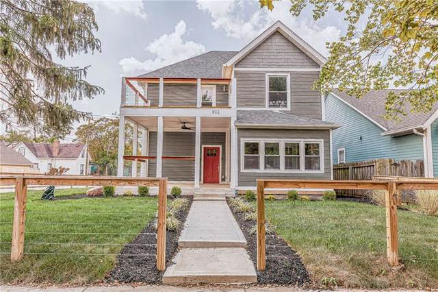 802 Jefferson Avenue, Indianapolis, IN 46201 (MLS #21663259) :: The ORR Home Selling Team
