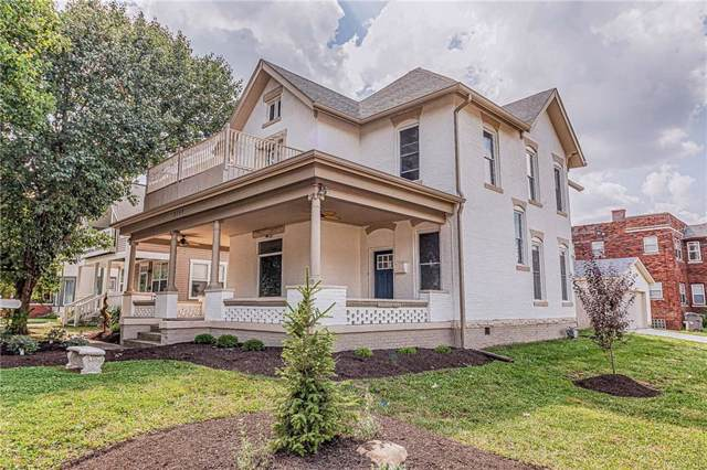 2548 N Park Avenue, Indianapolis, IN 46205 (MLS #21664076) :: The ORR Home Selling Team