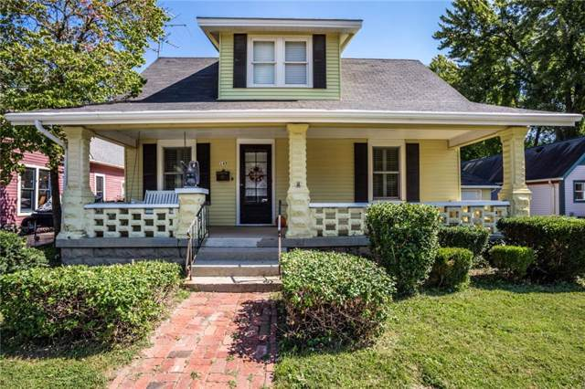 145 N Main Street, Zionsville, IN 46077 (MLS #21666068) :: The Indy Property Source