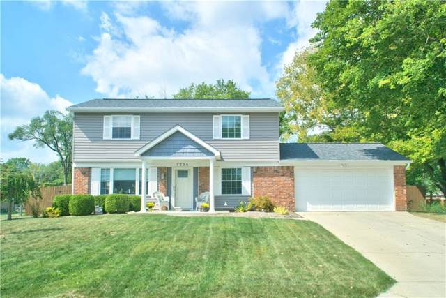 7224 Crest Lane, Indianapolis, IN 46256 (MLS #21667123) :: Mike Price Realty Team - RE/MAX Centerstone