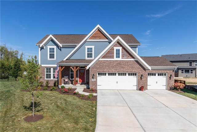 3528 Snowdon Drive, Westfield, IN 46074 (MLS #21667707) :: The Indy Property Source