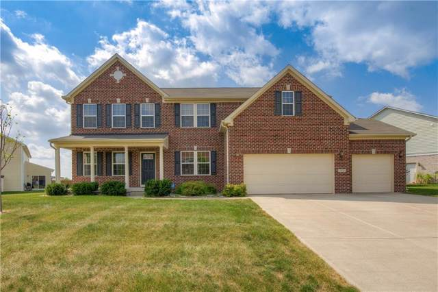 572 Fireside Drive, Greenwood, IN 46143 (MLS #21667828) :: The Indy Property Source