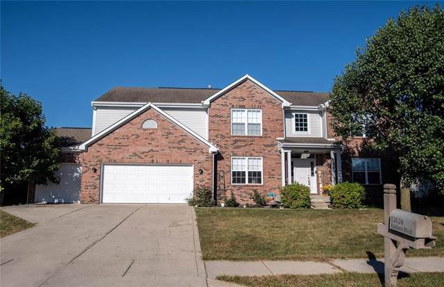 12624 Raiders Blvd, Fishers, IN 46037 (MLS #21668069) :: HergGroup Indianapolis