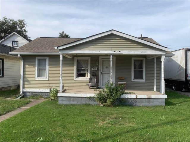 4014 E 10th Street, Indianapolis, IN 46201 (MLS #21668157) :: The ORR Home Selling Team
