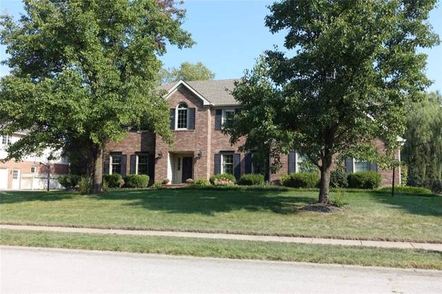 5550 Dover Drive, Carmel, IN 46033 (MLS #21668277) :: The ORR Home Selling Team