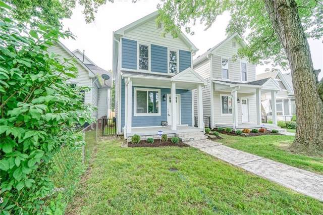 1531 Woodlawn Avenue, Indianapolis, IN 46203 (MLS #21668302) :: AR/haus Group Realty