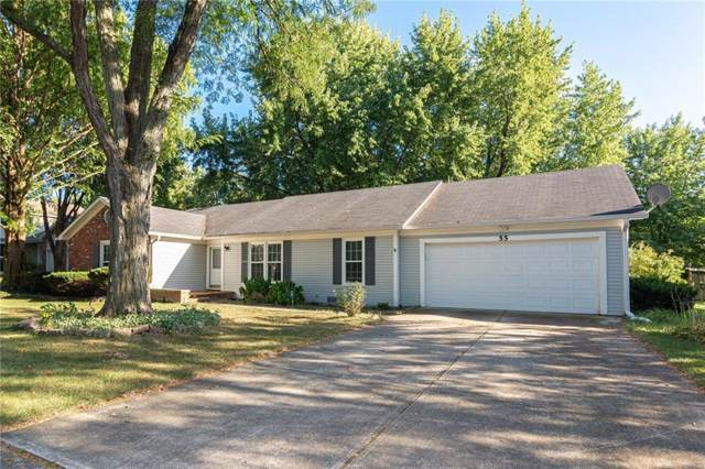 55 Apple Tree Circle, Fishers, IN 46038 (MLS #21668343) :: HergGroup Indianapolis