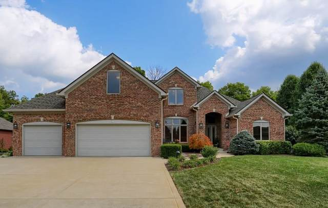 4181 S Village Row, New Palestine, IN 46163 (MLS #21668349) :: The Indy Property Source