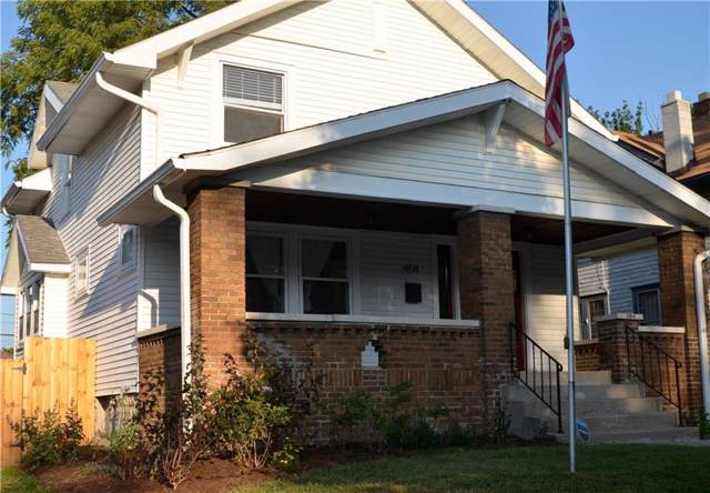 404 N Riley Avenue, Indianapolis, IN 46201 (MLS #21668383) :: The ORR Home Selling Team