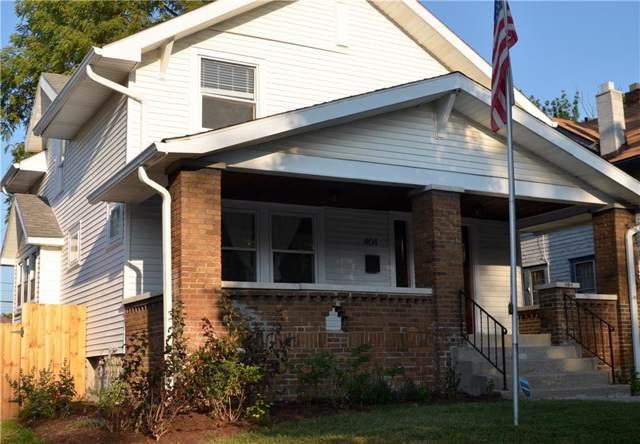 404 N Riley Avenue, Indianapolis, IN 46201 (MLS #21668383) :: AR/haus Group Realty