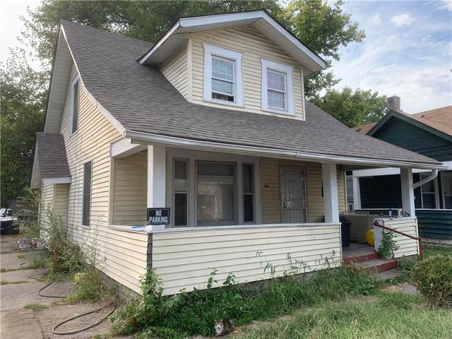 1024 N Belleview Place, Indianapolis, IN 46222 (MLS #21668447) :: The ORR Home Selling Team
