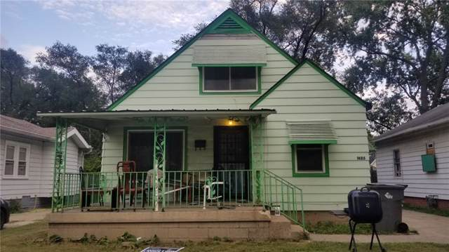 1625 N Sharon Avenue, Indianapolis, IN 46222 (MLS #21668463) :: The Indy Property Source