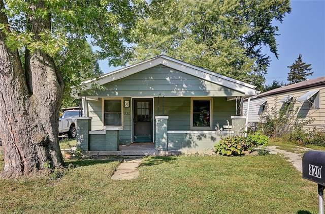 820 S Norfolk Street, Indianapolis, IN 46241 (MLS #21668592) :: AR/haus Group Realty