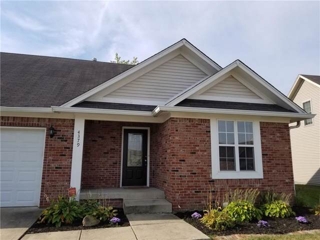 4379 W Summerhaven Drive, New Palestine, IN 46163 (MLS #21668614) :: The Indy Property Source