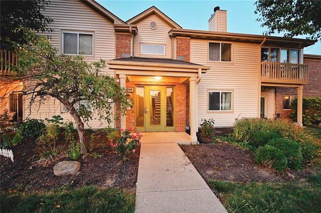 1098 Timber Creek Drive #7, Carmel, IN 46032 (MLS #21668955) :: The Indy Property Source