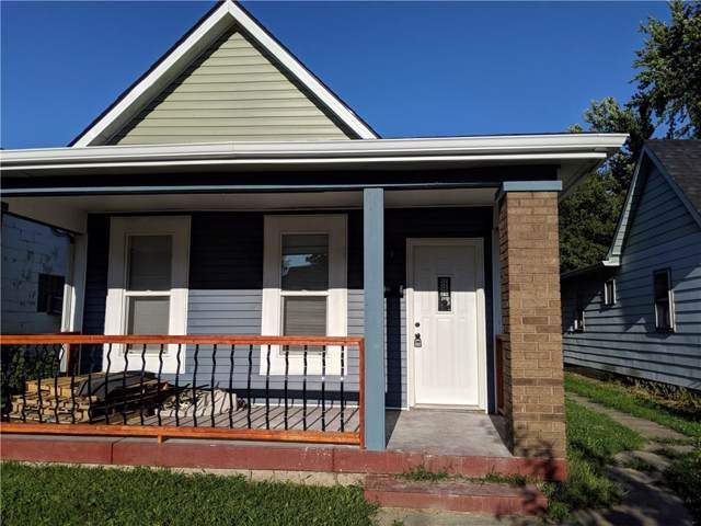 427 N Holmes Avenue, Indianapolis, IN 46222 (MLS #21670081) :: Mike Price Realty Team - RE/MAX Centerstone