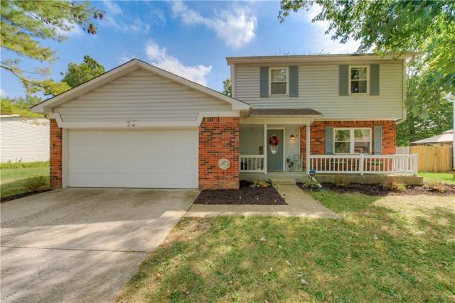7413 Fairway Circle East Drive, Indianapolis, IN 46236 (MLS #21670214) :: The Indy Property Source