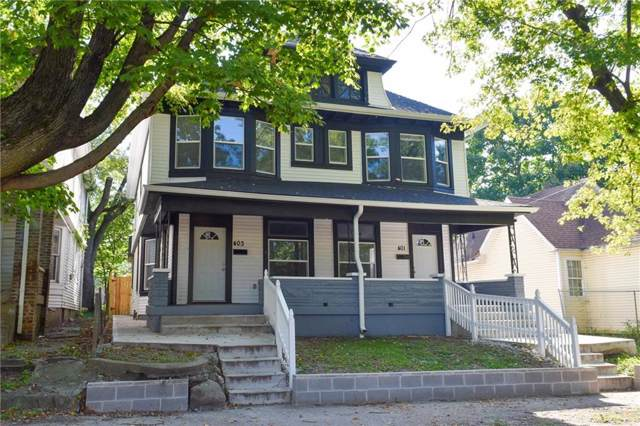 401 N Hamilton Avenue, Indianapolis, IN 46201 (MLS #21670385) :: The Indy Property Source