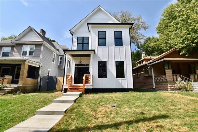 1114 Newman Street, Indianapolis, IN 46201 (MLS #21670421) :: HergGroup Indianapolis
