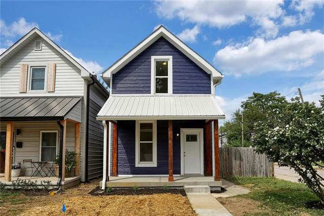 1460 Fletcher Avenue, Indianapolis, IN 46203 (MLS #21670590) :: The Indy Property Source