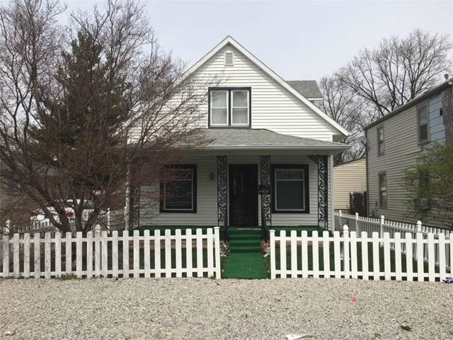 1224 Martin Street, Indianapolis, IN 46227 (MLS #21670593) :: The Indy Property Source