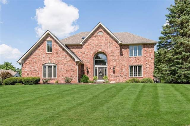 6862 Riverside Way, Fishers, IN 46038 (MLS #21670625) :: The Indy Property Source