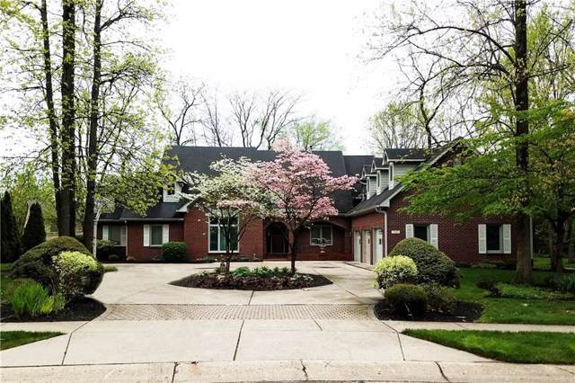 7659 Timber Springs Drive S, Fishers, IN 46038 (MLS #21672288) :: The Indy Property Source