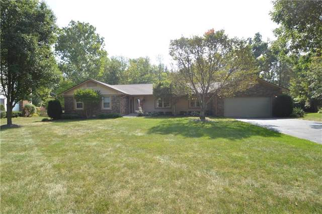 3967 S Creekside Drive, New Palestine, IN 46163 (MLS #21672586) :: The Indy Property Source