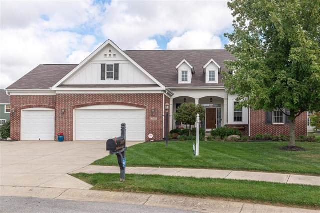 13689 Mallorn Circle, Fishers, IN 46038 (MLS #21672695) :: The Evelo Team