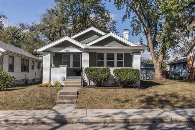 4118 E 11th Street, Indianapolis, IN 46201 (MLS #21673167) :: Your Journey Team