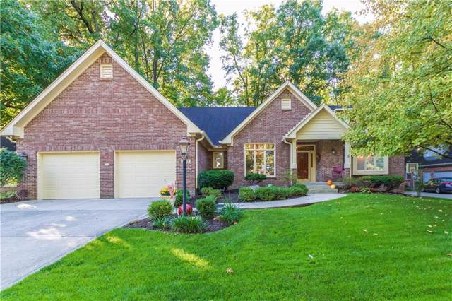 7633 Timber Springs Drive N, Fishers, IN 46038 (MLS #21673319) :: Mike Price Realty Team - RE/MAX Centerstone