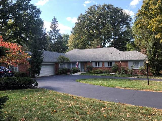 415 Pine Drive, Indianapolis, IN 46260 (MLS #21673446) :: Richwine Elite Group