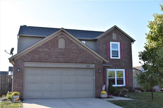 212 Brookview Drive, Brownsburg, IN 46112 (MLS #21673523) :: The Evelo Team