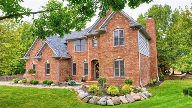 1498 Pondview Drive, Carmel, IN 46032 (MLS #21674188) :: Mike Price Realty Team - RE/MAX Centerstone