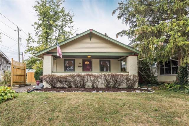 18 N Sheridan Avenue, Indianapolis, IN 46219 (MLS #21674191) :: Richwine Elite Group