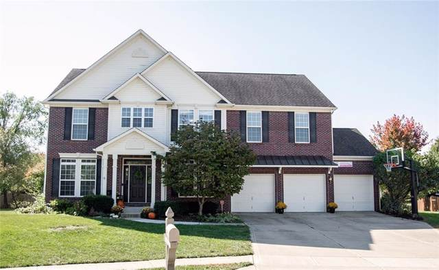 13568 Auburn Springs Circle, Fishers, IN 46038 (MLS #21674588) :: The Indy Property Source