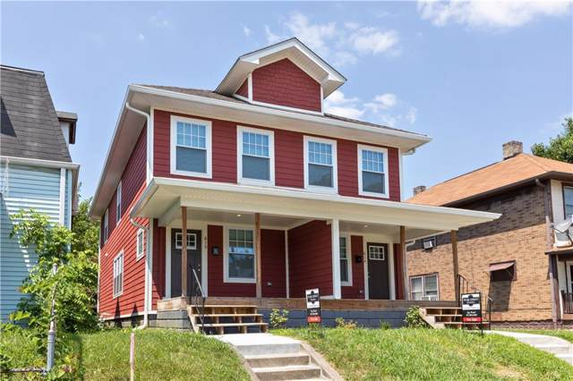 610 N Temple Avenue, Indianapolis, IN 46201 (MLS #21674651) :: David Brenton's Team
