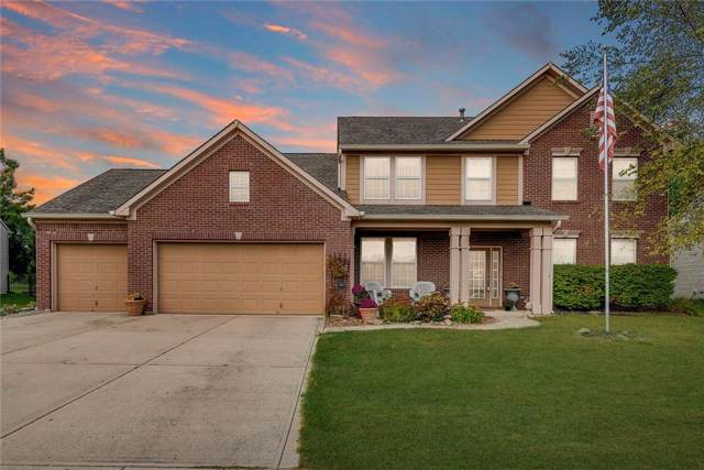 8150 Grassy Meadow Lane, Indianapolis, IN 46259 (MLS #21674687) :: Richwine Elite Group