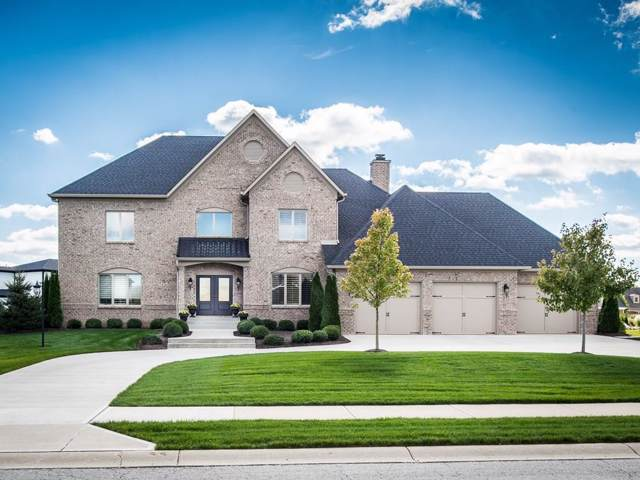 11983 Hawthorn Ridge, Fishers, IN 46037 (MLS #21674728) :: The Indy Property Source