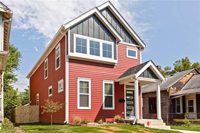 625 N Hamilton Avenue, Indianapolis, IN 46201 (MLS #21674952) :: AR/haus Group Realty