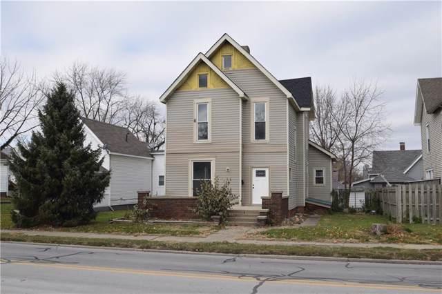 610 E Market Street, Crawfordsville, IN 47933 (MLS #21675029) :: Richwine Elite Group