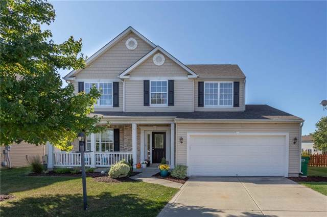 12143 Carriage Stone Drive, Fishers, IN 46037 (MLS #21675069) :: David Brenton's Team