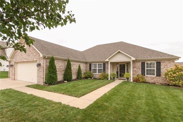 12872 Broncos Drive, Fishers, IN 46037 (MLS #21675139) :: The Indy Property Source