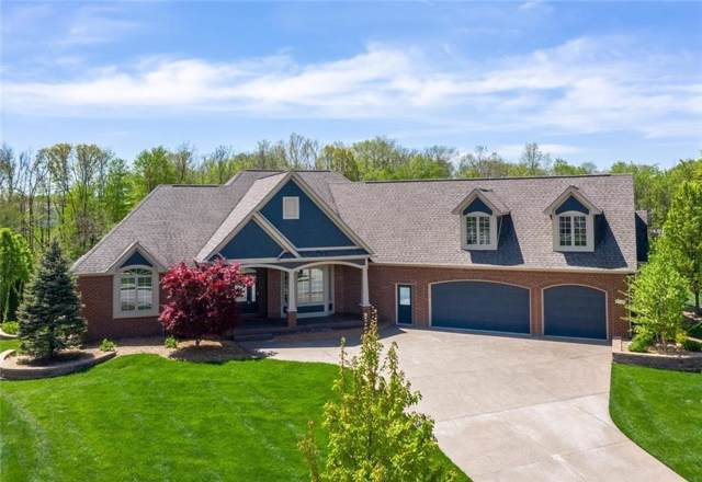 14345 Gainesway Circle, Fishers, IN 46040 (MLS #21675187) :: David Brenton's Team